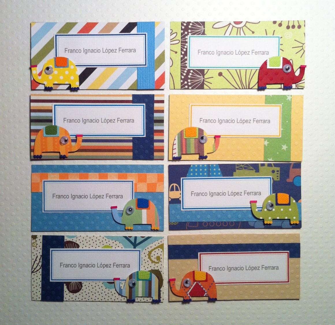 tarjetas de presentacin para originales con materiales importados